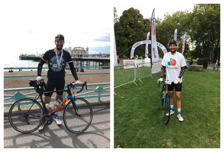 The London to Brighton Bike Ride 2018